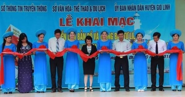 Exposition sur Hoang Sa et Truong Sa a Quang Tri hinh anh 1
