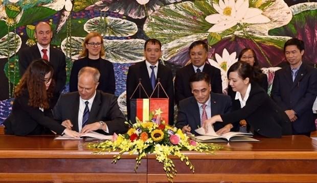 L'Allemagne finance pres de 370 millions d'euros pour le Vietnam hinh anh 1