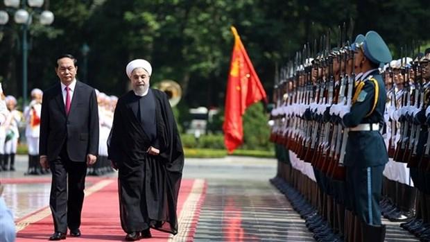 La presse iranienne parle de la visite d'Etat d'Hassan Rohani au Vietnam hinh anh 1
