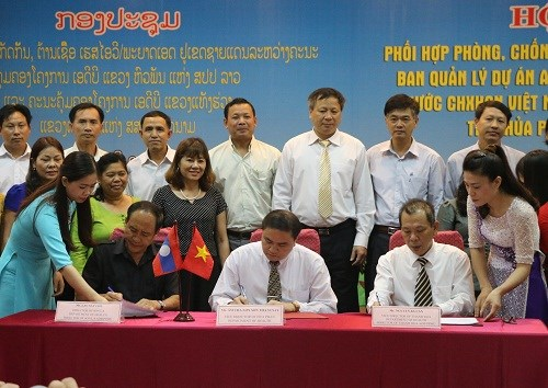 Renforcement de la lutte contre le VIH a la frontiere Vietnam-Laos hinh anh 1
