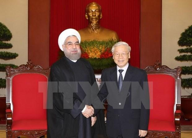 Pour une cooperation plus dynamique entre le Vietnam et l'Iran hinh anh 1