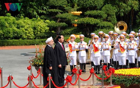Declaration commune Vietnam-Iran hinh anh 1