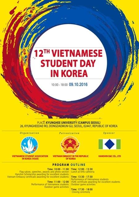 Journee des etudiants vietnamiens en Republique de Coree hinh anh 1