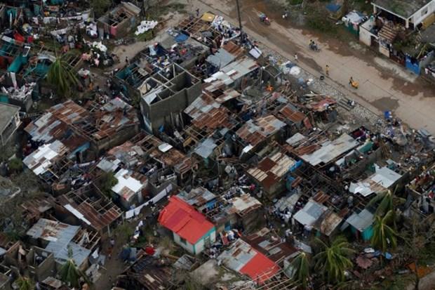 Ouragan Matthew : message de sympathie du Vietnam hinh anh 1
