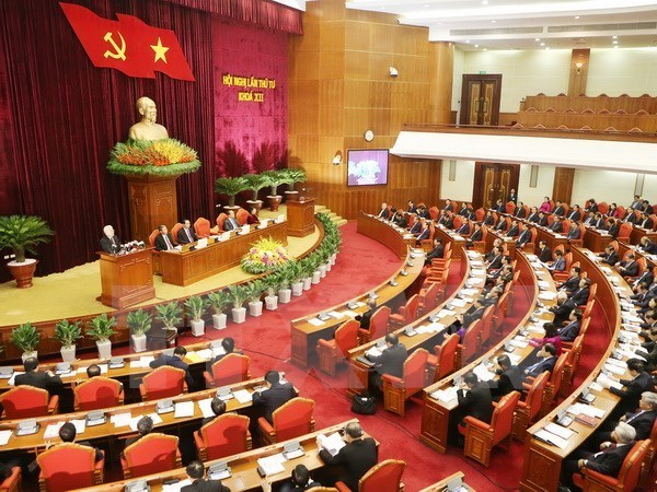 Troisieme journee du 4eme plenum du CC du PCV (12eme mandat) hinh anh 1