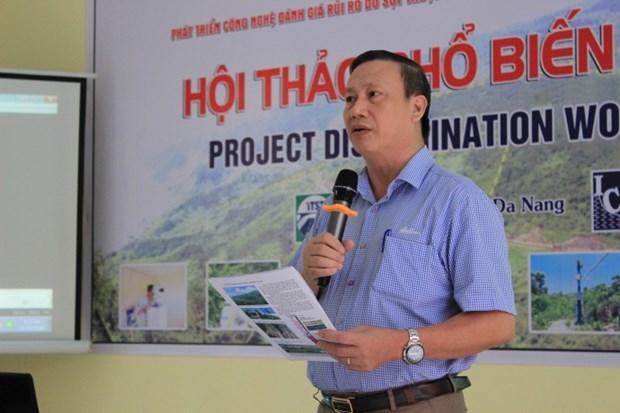 Le Japon finance un projet pour evaluer les risques de glissements de terrain hinh anh 1