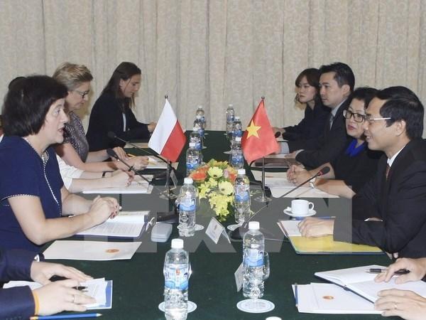 La Pologne soutient le renforcement des relations Vietnam-UE hinh anh 1