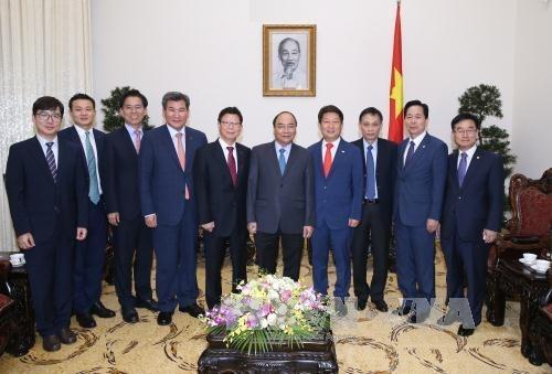 Le Premier ministre insiste sur la cooperation decentralisee avec la R. de Coree hinh anh 1