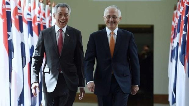 Australie et Singapour renforcent leur partenariat strategique integral hinh anh 1