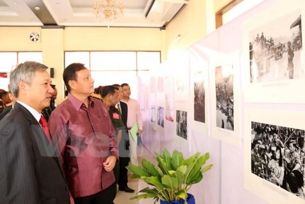 Exposition «La piste legendaire Ho Chi Minh au Laos durant la periode 1961-1975» a Savannakhet hinh anh 1