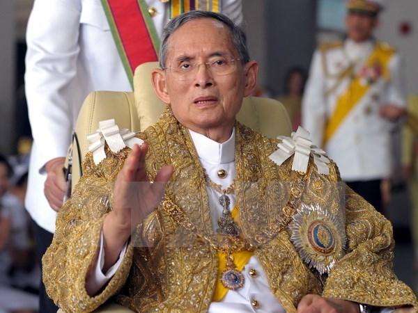 Message de condoleances du Vietnam suite au deces du roi de Thailande hinh anh 1