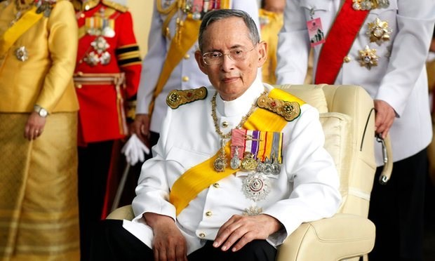 Deces du roi de Thailande hinh anh 1
