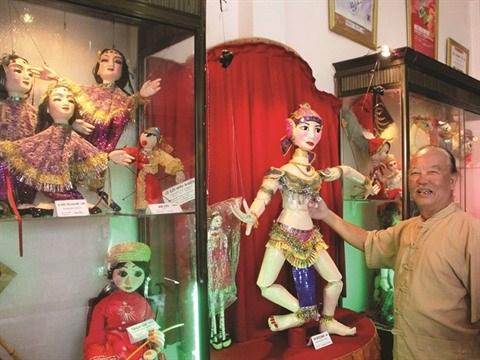 Duong Van Hoc ou la passion des marionnettes hinh anh 2