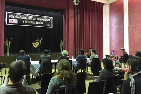 Le Vietnam a l'honneur au Concours international de Guitare de Berlin 2016 hinh anh 1