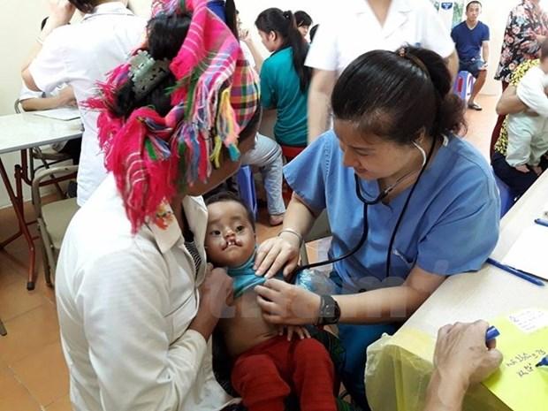 80.000 USD de la Societe ExxonMobil pour la sante des enfants vietnamiens hinh anh 1