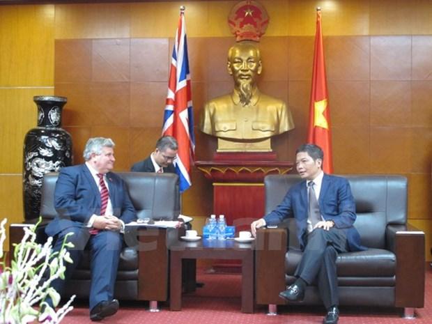 Le Royaume-Uni affirme son soutien a l'ALE UE-Vietnam hinh anh 1