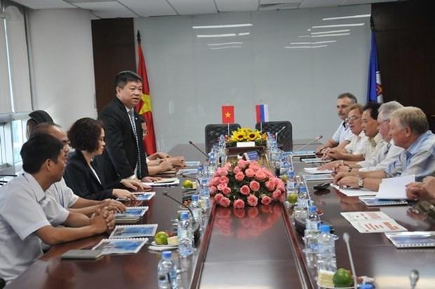 Electricite : renforcement de la cooperation syndicale Vietnam-Russie hinh anh 1