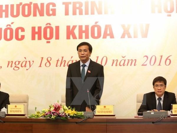 La 2e session de l'AN adoptera d'importants projets de loi hinh anh 1