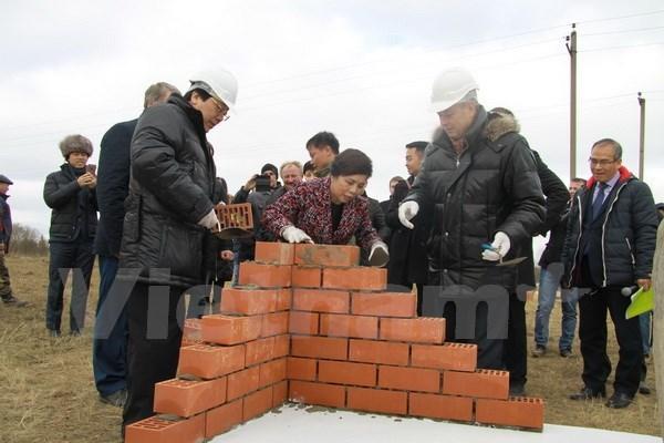 TH True Milk : mise en chantier du 2e projet de vaches laitieres en Russie hinh anh 1