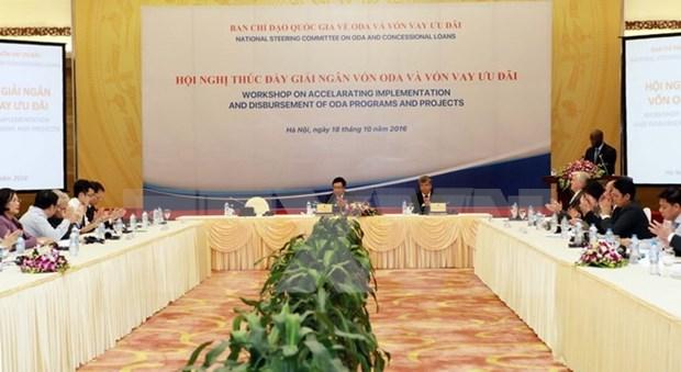 Un vice-PM souligne la necessite d'accelerer le decaissement des APD hinh anh 1