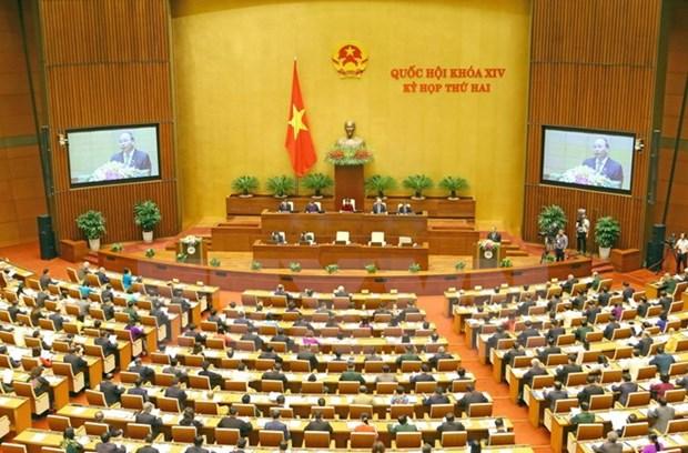 Discours d'ouverture de la 2e session de la XIVe legislature de l'Assemblee nationale hinh anh 1