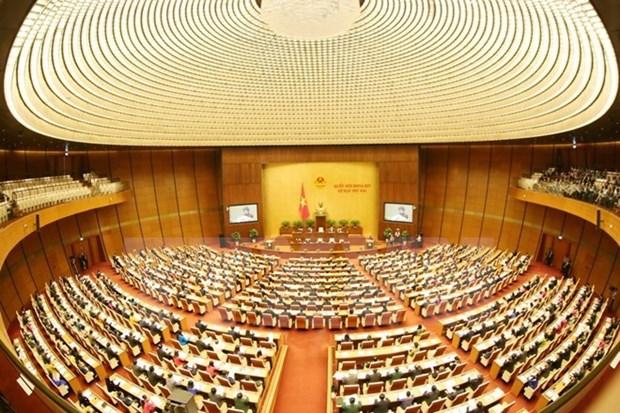 Premiere journee de travail de la 2e session de la 14e legislature de l'AN hinh anh 1