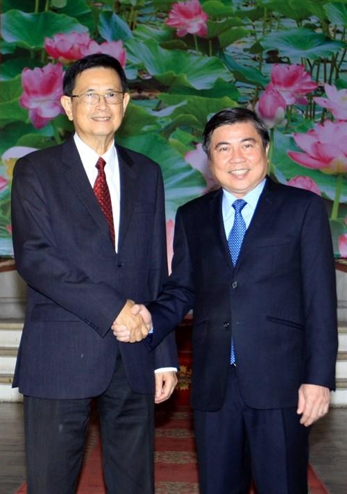 HCM-Ville souhaite developper ses relations de cooperation avec le Cambodge hinh anh 1