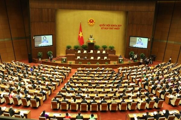 Ouverture de la 2e session de la XIVe legislature de l'Assemblee nationale hinh anh 1