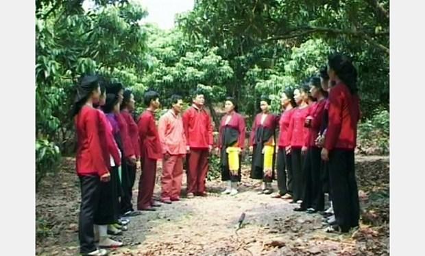 La preservation de la musique de l'ethnie San Diu hinh anh 1
