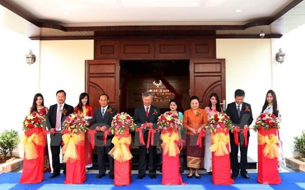 Inauguration du nouveau siege du Consulat general du Vietnam a Luang Prabang hinh anh 1