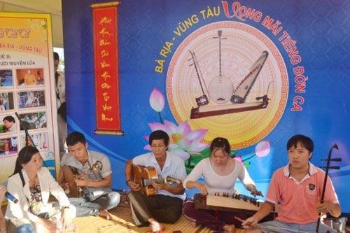 Ba Ria-Vung Tau : preservation et valorisation des valeurs artistiques du «don ca tai tu» hinh anh 1