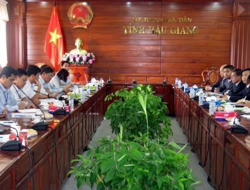Une deuxieme centrale solaire bientot construite a Hau Giang hinh anh 1