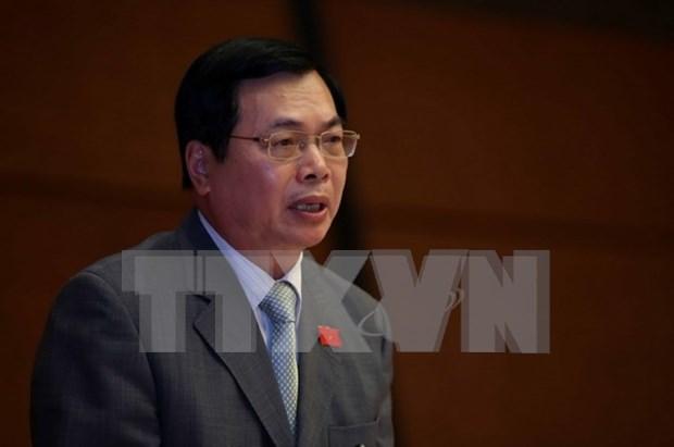 L'ancien ministre de l'Industrie et du Commerce Vu Huy Hoang rappele a l'ordre hinh anh 2