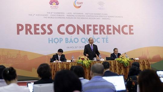 ACMECS-7, CLMV-8 et WEF-Mekong : mobiliser les ressources pour developper la region du Mekong hinh anh 1