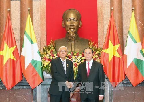 Le Myanmar souhaite promouvoir la cooperation multiforme avec le Vietnam hinh anh 1