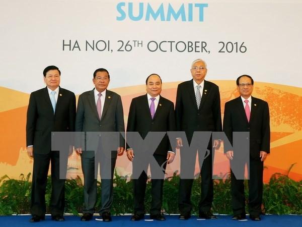 Declaration commune du 8e Sommet de la CLMV a Hanoi hinh anh 1