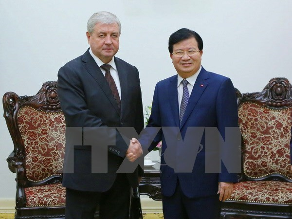 Vietnam et Bielorussie stimulent leur cooperation economique hinh anh 1