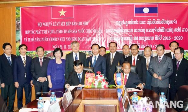 Renforcement de la cooperation entre Da Nang et les provinces laotiennes hinh anh 1