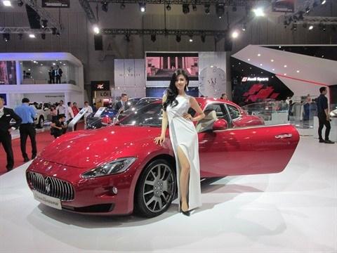 Ouverture de l'Exposition internationale d'automobiles VIMS 2016 hinh anh 1