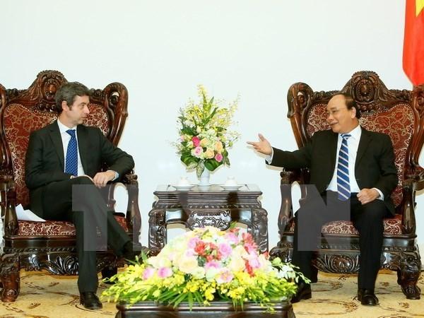 Le PM Nguyen Xuan Phuc recoit le ministre italien de la Justice hinh anh 1