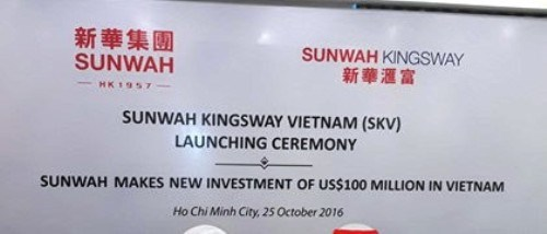Sunwah Group : investissement supplementaire de 100 millions de dollars au Vietnam hinh anh 1