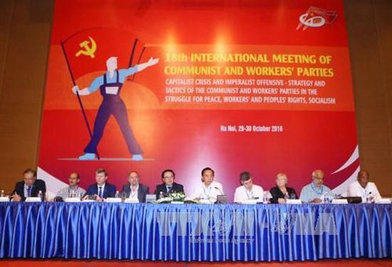 Reunion internationale des Partis communistes et ouvrier a Hanoi hinh anh 1