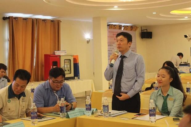 Connexion entre entreprises vietnamiennes et sud-coreennes hinh anh 1