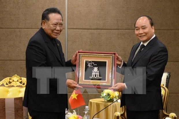 Le PM Nguyen Xuan Phuc recoit des personnalites et businessmen thailandais hinh anh 1