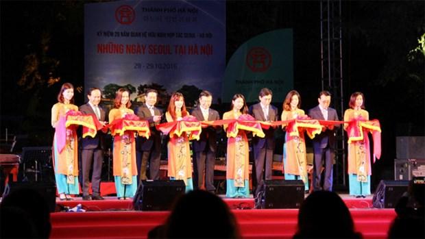 Les journees de Seoul a Hanoi hinh anh 1