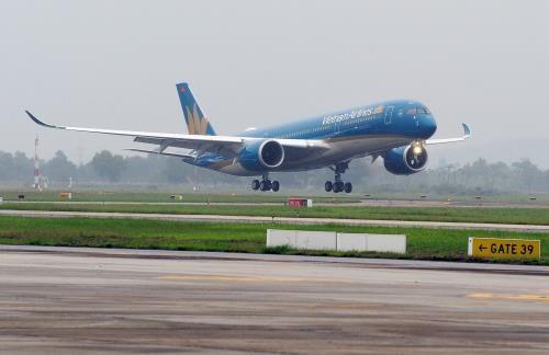 Vietnam Airlines recoit son cinquieme A350-900 XWB hinh anh 1