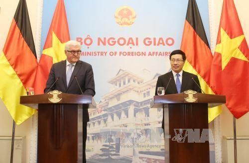 Le Vietnam prend en haute consideration l'intensification de ses relations avec l'Allemagne hinh anh 1