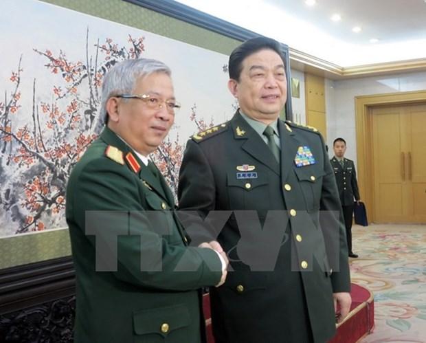 Le Vietnam et la Chine renforcent leurs liens dans la defense hinh anh 1