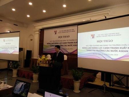Renforcer la competitivite des exportations vers l'ASEAN hinh anh 1