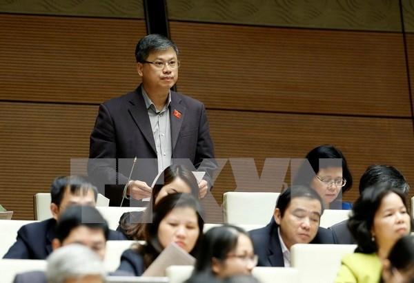 Les deputes discutent de la restructuration de l'economie nationale et de la production agricole hinh anh 1